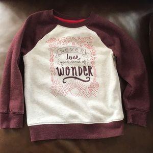 Cat & Jack sweatshirt